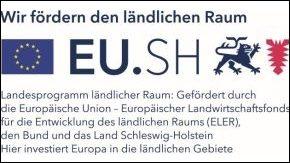 Förderung der Neuen Mitte mit Logo der EU
