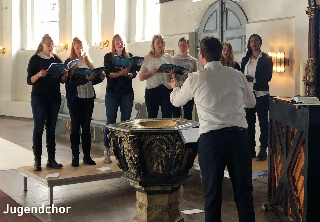 Bild des Jugendchores - Kirchenmusik in Heide