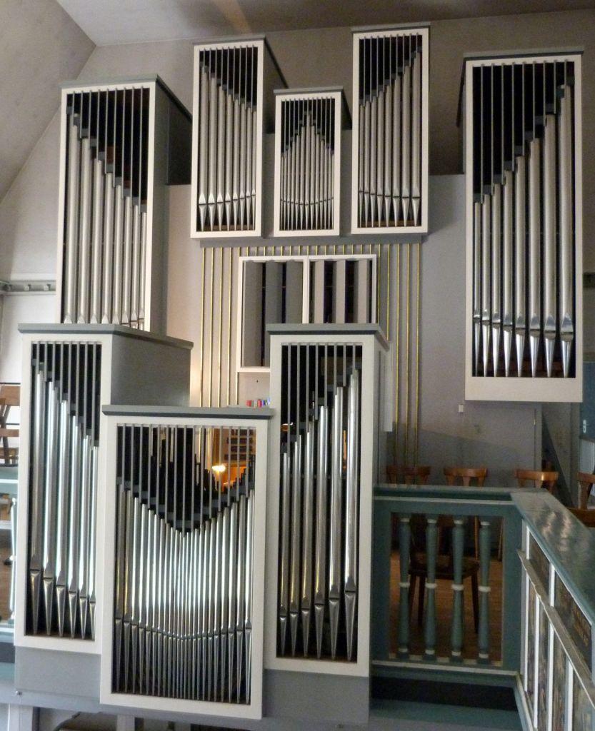 Orgel in der St. Jürgen Kirche - Kirchenmusik
