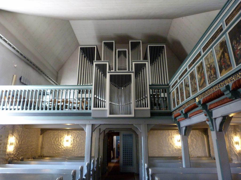 Die Orgel der St.-Jürgen-Kirche in Heide - Kirchenmusik in Heide