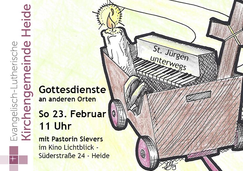St. Jürgen unterwegs – Gottesdienste an anderen Orten