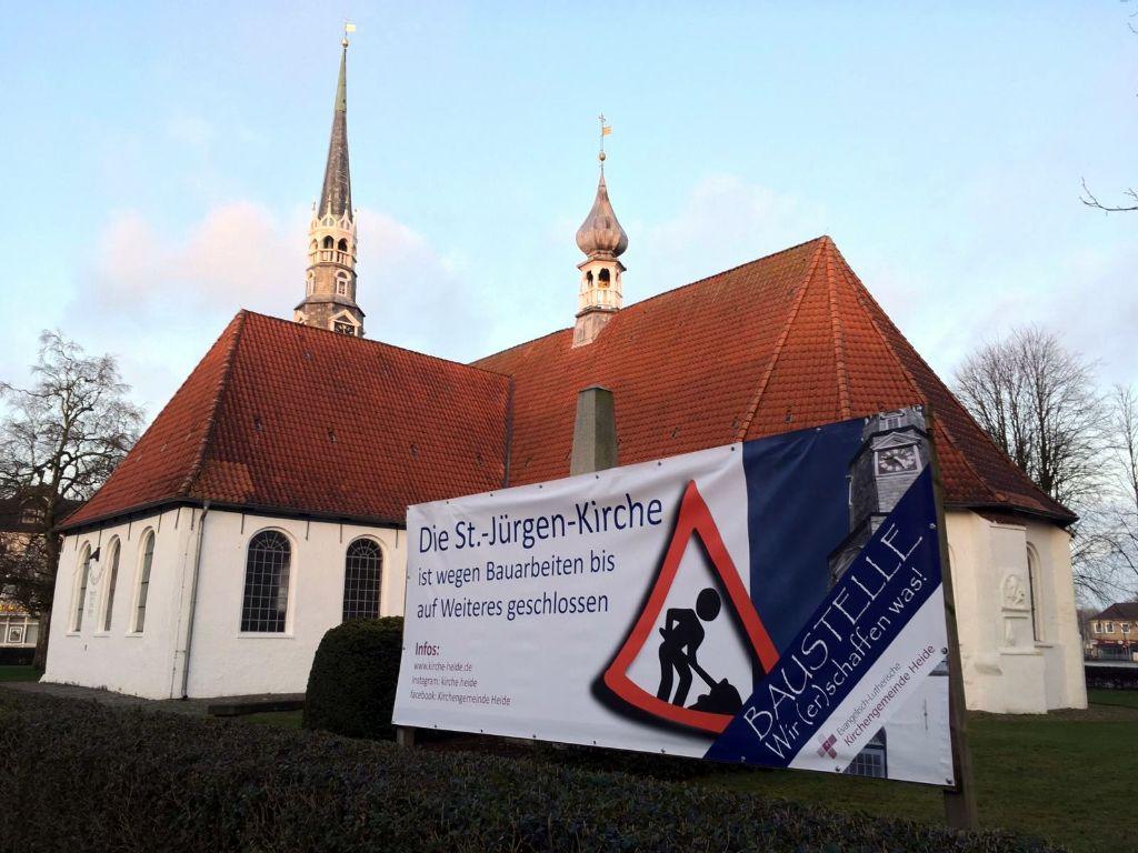 Neue Mitte Baustelle St. Jürgen