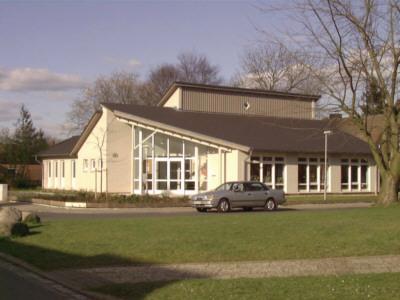 Gemeindehaus neben der Auferstehungskirche