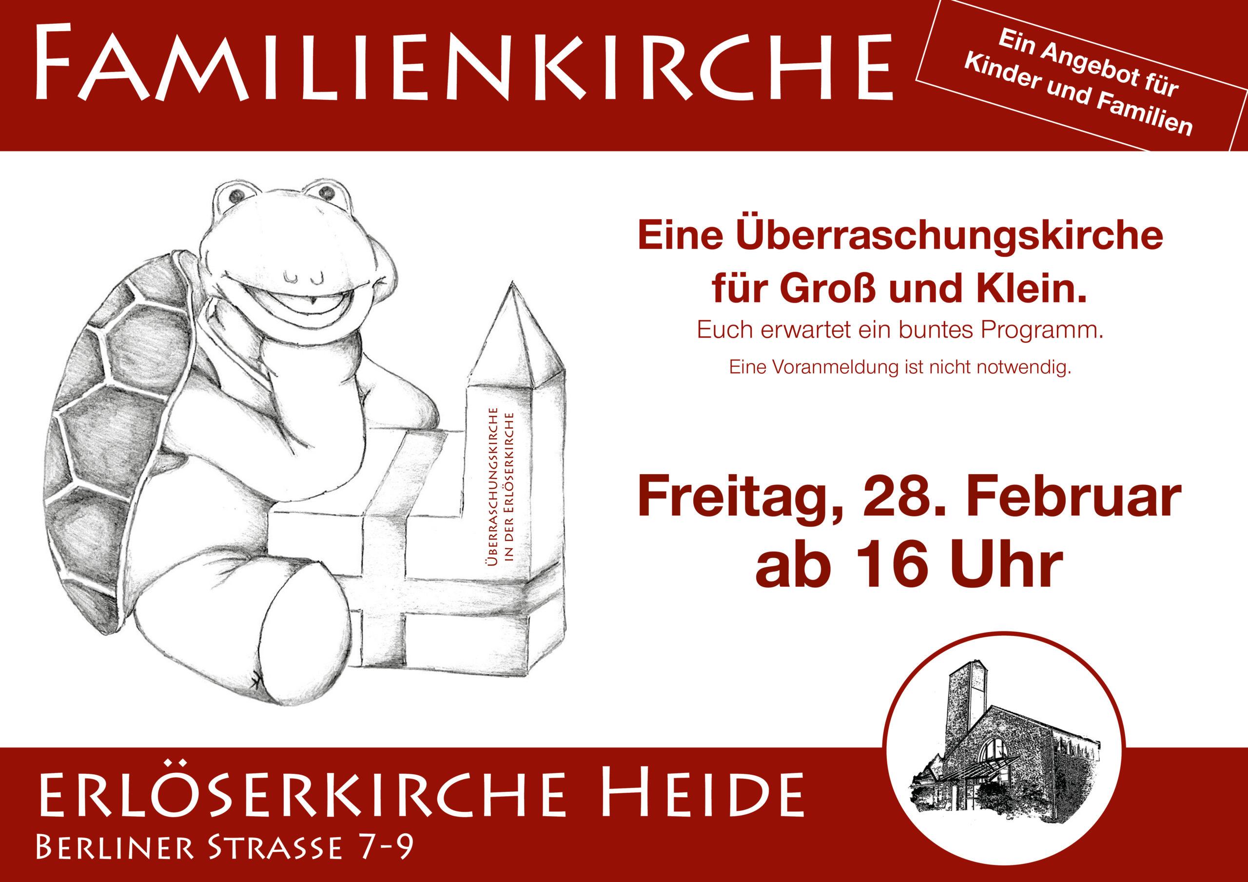 Familienkirche in Heide 28.02.