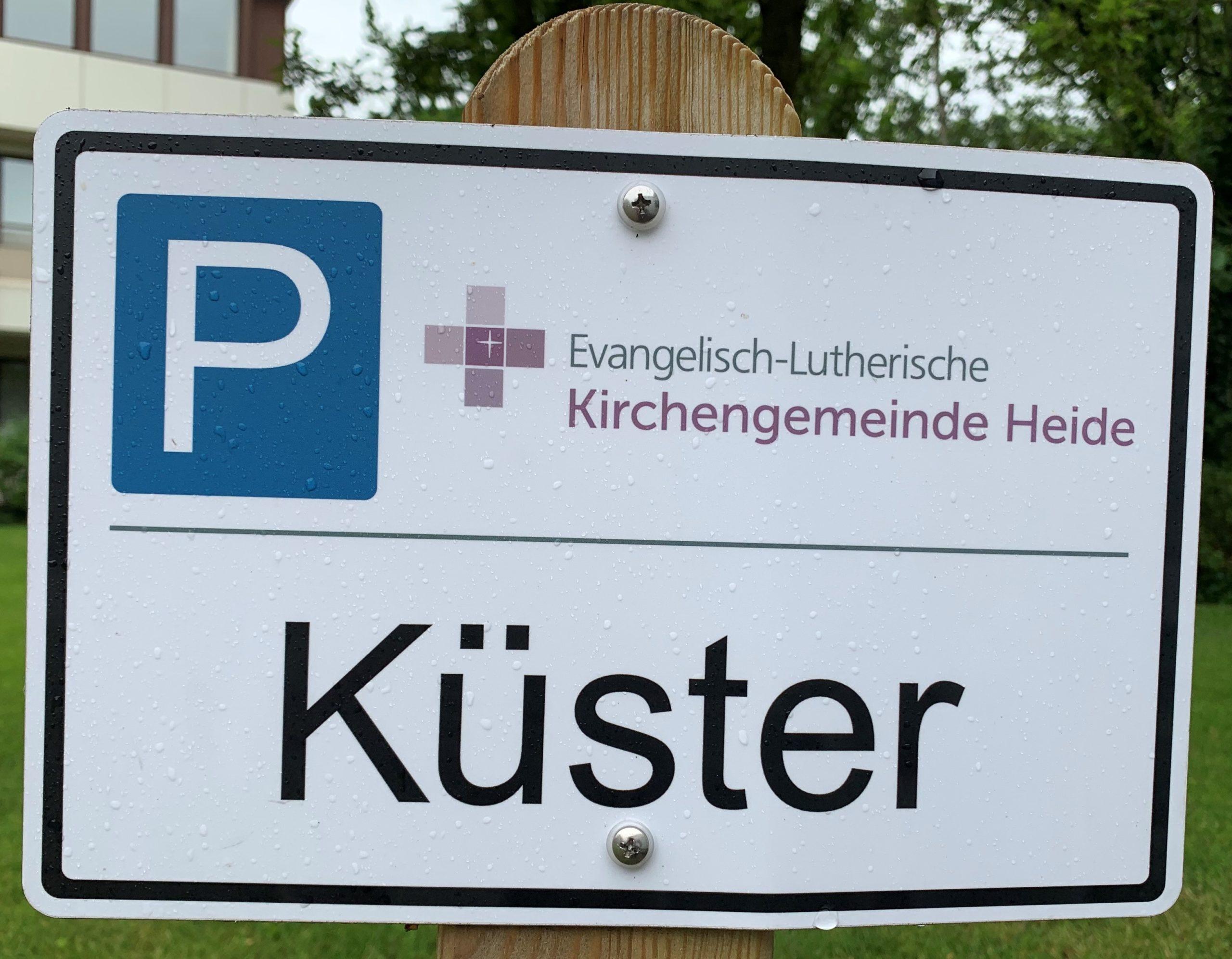Küster/in (w/m/d) gesucht
