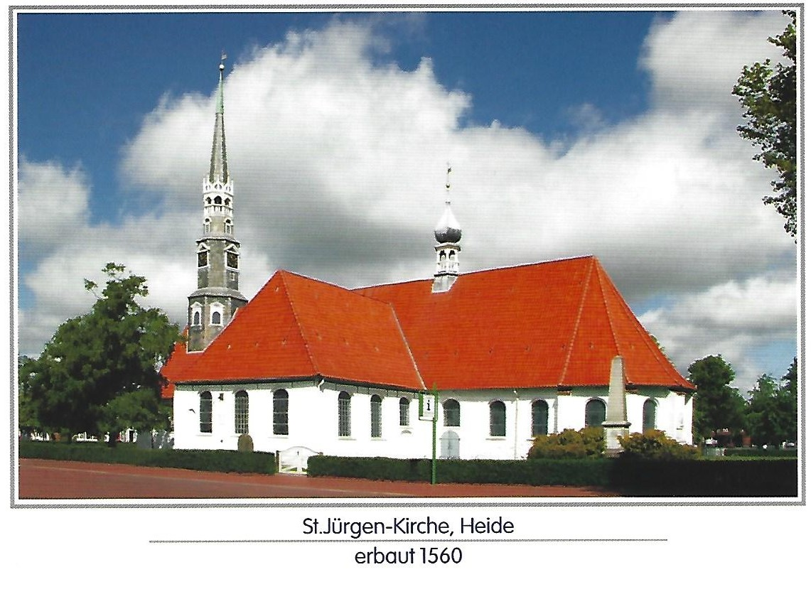 Postkarte St Jürgen
