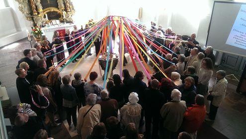 Segenszelt zum Pfingstfest